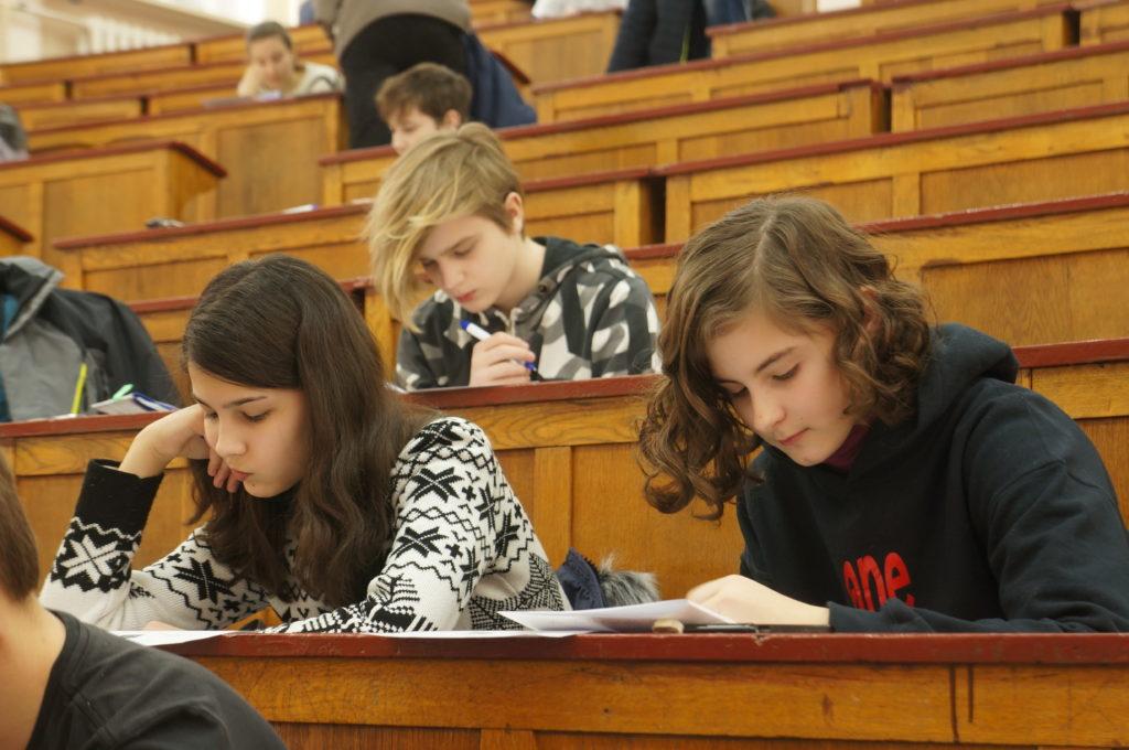 Школьники-участники ШФ-2018